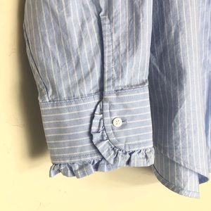 Lands' End Tops - Lands End Womens Long Sleeve Button Up Blouse